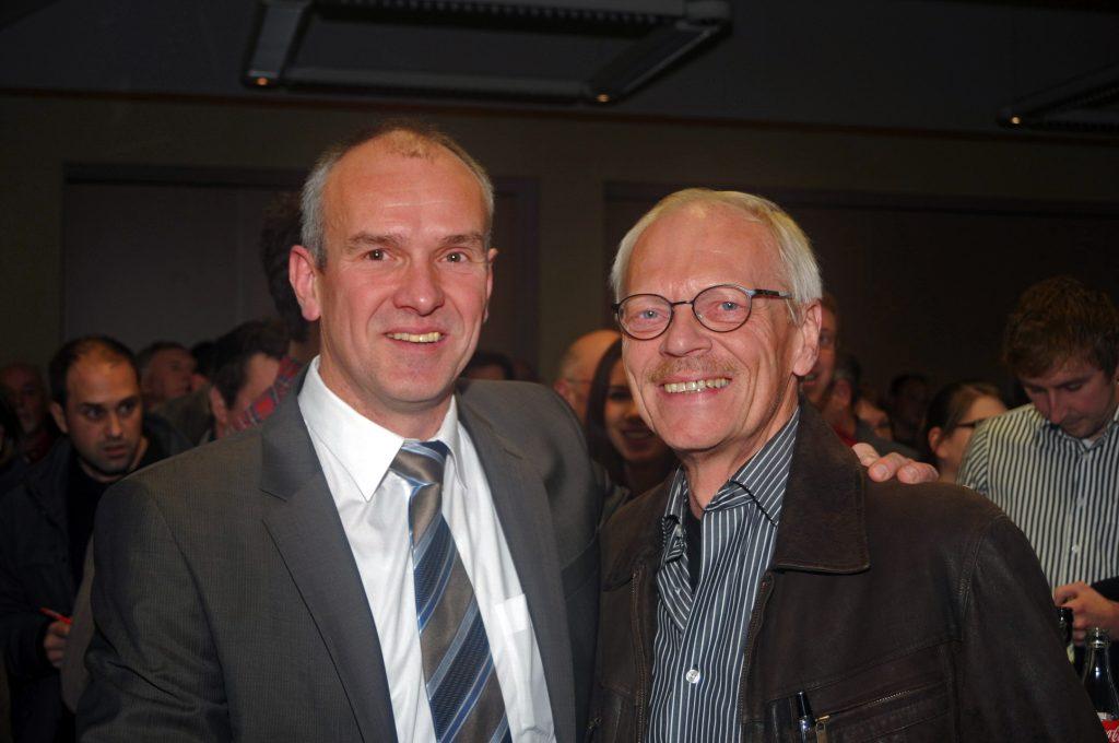Der alte und der neue Bürgermeister 2011
