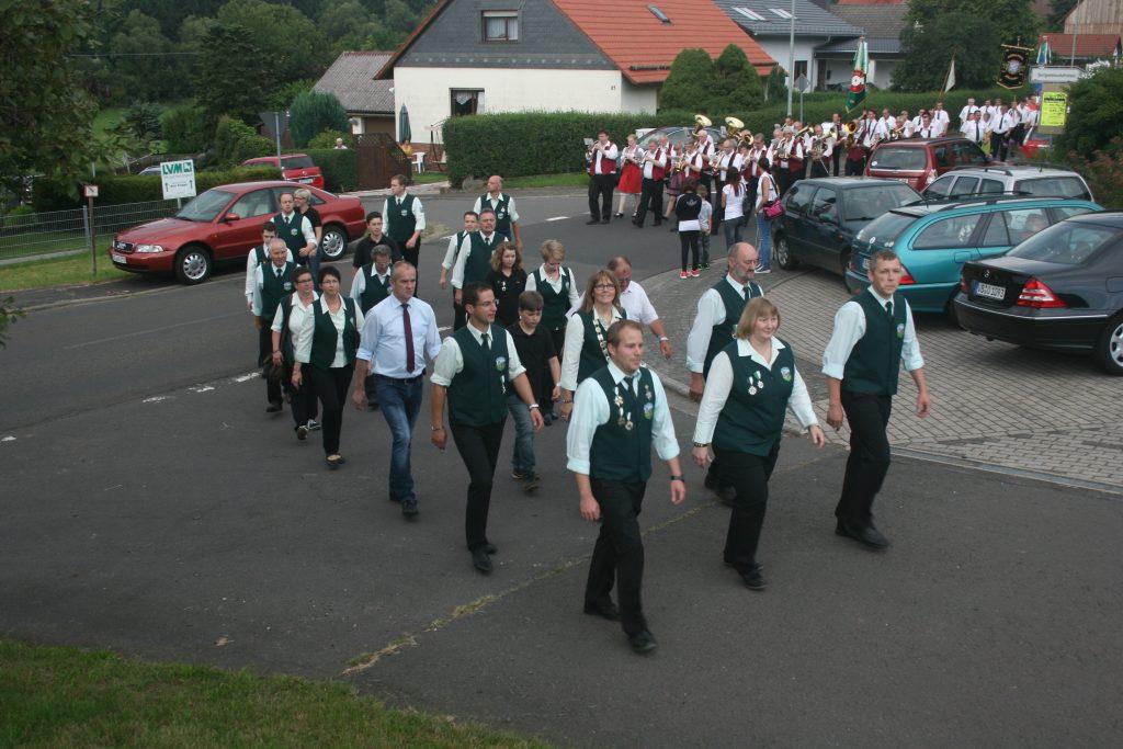 Schützenausmarsch Feldkrücken 2014